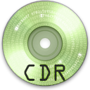 Cdr DarkSeaGreen icon