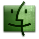 Finder DarkSeaGreen icon
