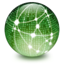 network DarkSeaGreen icon