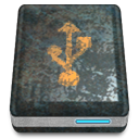 zion, drive, Usb DarkSlateGray icon