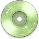 Cd, save, Disk, disc DarkSeaGreen icon