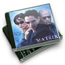 ost, music, Matrix, score Black icon