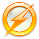 Flash SaddleBrown icon