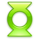 Lantern, green ForestGreen icon