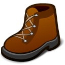 Hike, Boot SaddleBrown icon