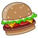 cheeseburger Peru icon