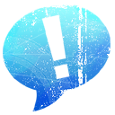 ichat LightSkyBlue icon