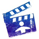 Imovie DarkSlateBlue icon