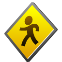 public, toolbar Gold icon