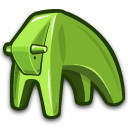 buffalo, water OliveDrab icon