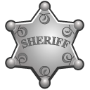 Badge Black icon