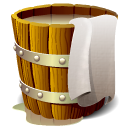 wooden, Bucket, Full SaddleBrown icon
