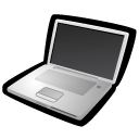 Powerbook, Widescreen DarkSlateGray icon