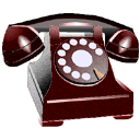 Call, from, Client Black icon