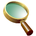 glass, magnifying SeaGreen icon