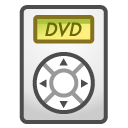 player, Dvd, disc WhiteSmoke icon