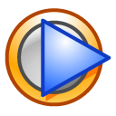 window, player, media SaddleBrown icon