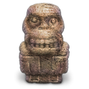kong, cult, statuette DimGray icon