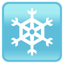 snowflake, Iphone, smartphone, Cell phone, mobile phone MediumTurquoise icon