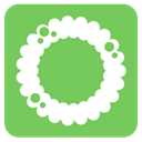 wreath YellowGreen icon