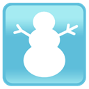 frosty, Iphone, mobile phone, Cell phone, smartphone MediumTurquoise icon