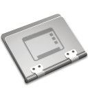 Desktop, Folder Silver icon