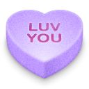 you, luv Plum icon