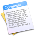 document, paper, File AliceBlue icon