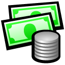 Quicken, Accounting Black icon