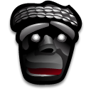 Mask, gere Black icon