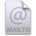 location, mail to Silver icon