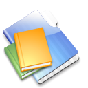 Aqua, Library Black icon