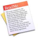 Readme Black icon