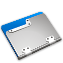Folder, Blueberry Gainsboro icon