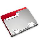 ruby, Folder Black icon