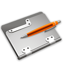 Application, Folder Black icon