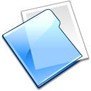 plain, Folder LightSkyBlue icon