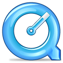 quicktime LightSkyBlue icon
