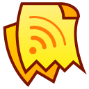 sound, voice, Clipping Yellow icon