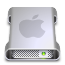 drive, Apple Silver icon
