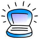 Ibook, Blueberry Black icon