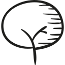 woods, trees, plant, Plants, Forest, nature, Branches Black icon