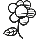 nature, floral, Flourish, Bloom, flowers, petals, blossom Black icon
