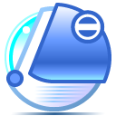 Blueberry, Imac, aquanoid RoyalBlue icon
