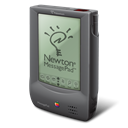 Apple, Newton Black icon