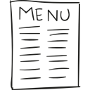 Restaurant, Restaurants, meal, breakfast, food, Lunch Black icon