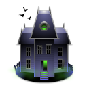 house, Building, haunted, Home DarkSlateGray icon