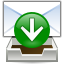 Letter, Email, Message, send, mail, envelop, receive Green icon