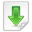 descending, File, Application, paper, Down, fall, Decrease, Descend, document, download, Arrow, Kgetlist WhiteSmoke icon