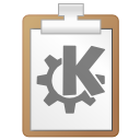 File, paper, document, Clipboard, paste, klipper WhiteSmoke icon
